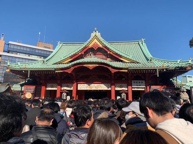 2019年元旦 今年も神田明神へ初詣に行ってきました
